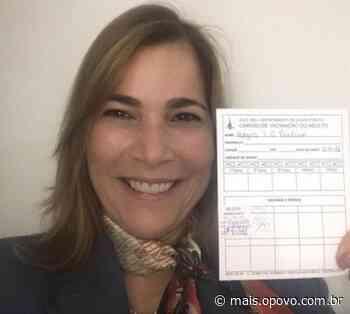 Mayra Pinheiro se vacina e divide opinião entre seguidores - O POVO