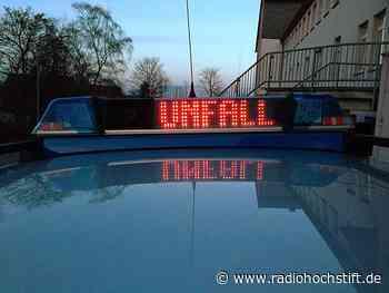 Schwerer Unfall auf der B1 bei Salzkotten - Radio Hochstift