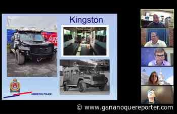 Kingston Police purchase new armoured rescue vehicle - Gananoque Reporter