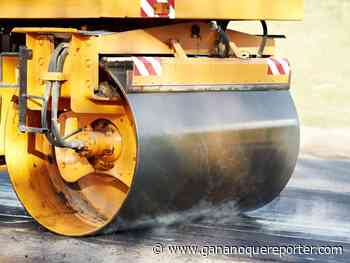 Portion of Cecelia Street closed for paving this morning - Gananoque Reporter