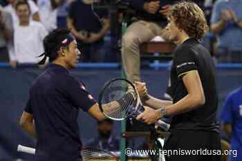 Kei Nishikori shows respect for Alexander Zverev ahead of French Open clash - Tennis World USA