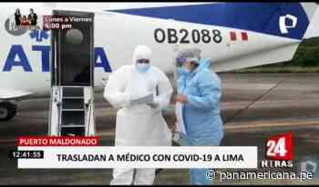 Puerto Maldonado: médico fue trasladado de emergencia a Lima por COVID-19 - Panamericana Televisión