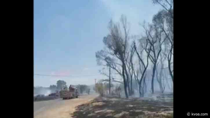 Nogales Fire battles brush fire