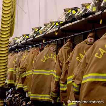 Caledon firefighters battle blaze in estate subdivision near Orangeville - Toronto Star