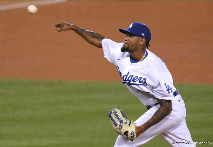 Dodgers trade Dennis Santana to Rangers for minor-leaguer