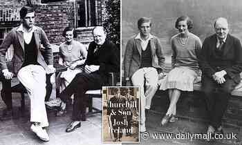 Churchill so doted on his son Randolph that he turned into a brat who once urinated on Lloyd George