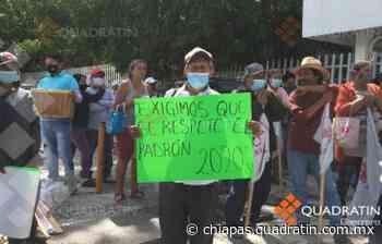 Protestan antorchistas afuera de Sader en Chilpancingo - Quadratín Chiapas