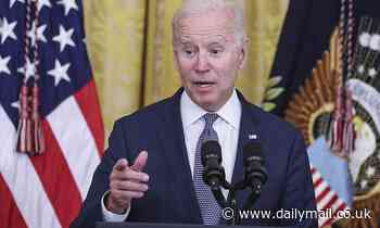 Biden's approval rating has dropped by SIX POINTS since April with inflation fears sweeping economy