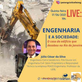 Cefet Varginha promove live com professor da UERJ sobre caso de edifício que desabou no Rio de Janeiro - Varginha Online
