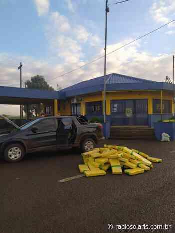 PRF prende traficante com mais de meia tonelada de maconha em Vacaria | Grupo Solaris - radiosolaris.com.br