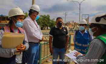 Sullana: empresa inicia instalación de la red principal de gas natural en la avenida Champagnat - El Regional