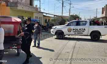 Sullana: delincuentes asesinan a un comerciante en el asentamiento humano Santa Teresita - El Regional