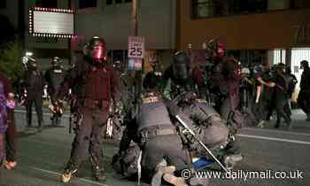 Portland Police's riot squad RESIGNS after cop was indicted for striking 'activist photographer'