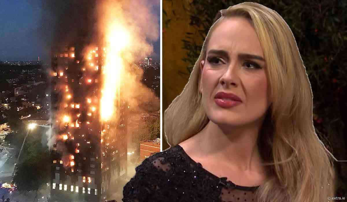 Watch: Adele posts rare video paying tribute to Grenfell tragedy victims on fourth anniversary - Extra.ie