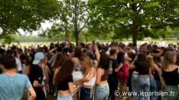 VIDÉO. Paris : 300 lycéens fêtent le bac au bois de Boulogne, la police les disperse - Le Parisien
