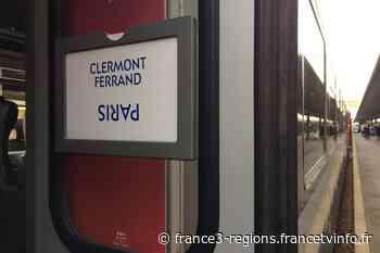 SNCF : pourquoi des perturbations sont annoncées sur la ligne Clermont-Ferrand-Paris - France 3 Régions
