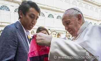 Egan Bernal visitó al papa en El Vaticano - Opinion Caribe