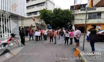 Bloquean en Chilpancingo para exigir rehabilitación de sistema de agua - Quadratín - Quadratín Michoacán