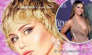 Miley Cyrus has Maren Morris at Pride concert