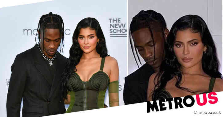 Kylie Jenner and Travis Scott 'very close again' after cuddling up at New York bash