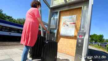 Bahnhof Husum: Klagen Reisender reißen nicht ab: Lift zum Husumer Bahnsteig immer noch defekt   shz.de - shz.de