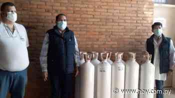 Gobernación de Concepción entrega 20 balones de oxígeno al Hospital Regional - Hoy