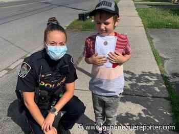 Dozens of children 'cited' by Cornwall police for Project Pyper - Gananoque Reporter