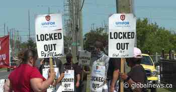 Locked-out Reliance workers want better benefits