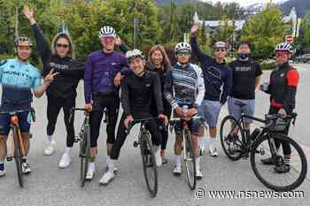 Vancouver cycling team makes remarkable ride for mental ride - North Shore News