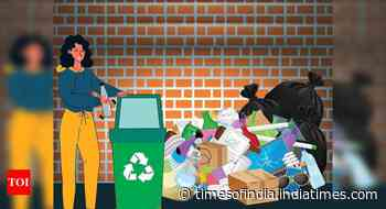 Giving your pizza boxes, chips packets for recycling? You're wish-cycling your trash - Times of India