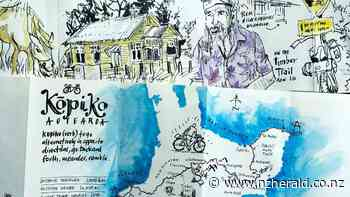 GO NZ: Cycling Kōpiko Aotearoa - Cape Egmont to East Cape sketches from the saddle - New Zealand Herald