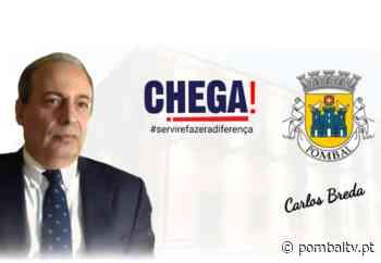 Autárquicas: Carlos Breda é candidato à Câmara de Pombal pelo Chega - PombalTV