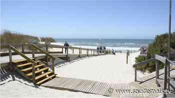 Covid-19: Contágio por SARS-CoV-2 deixa praia de Pombal sem vigilância - Canal S+