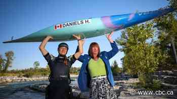 Calgary daughter and dad to make history at Olympics, as female canoeist and trans judge