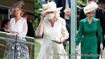 Os membros da realeza que brilharam no segundo dia do Royal Ascot - Notícias ao Minuto