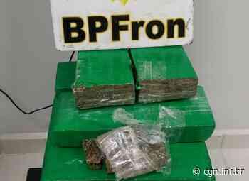BPFRON apreende 21 kg de maconha, durante abordagem a ônibus, em Realeza - CGN