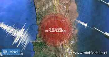 Sismo de ligera magnitud se percibió entre las regiones de Valparaíso y O'Higgins - BioBioChile