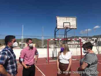 El delegado de Educación visita el colegio Nuestra Señora de Monteagud de Uleila del Campo para conocer sus necesidades - Teleprensa periódico digital