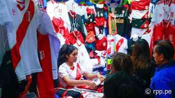 Gamarra: Venta de camisetas se incrementa gracias a partidos de la Selección Peruana - RPP Noticias