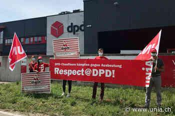 DPD-Fahrer*innen wenden sich mit Petition an den CEO - Unia