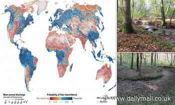 HALF of Earth's rivers and streams 'stop flowing periodically' - Daily Mail