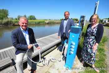 Water – en stroomzuil aan aanlegsteiger moet misbruik en ver... (Oudenburg) - Het Nieuwsblad