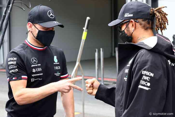 Mercedes cambiará el chasis de Hamilton y Bottas para Francia - SoyMotor.com