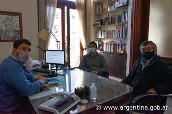 Marinucci visitó Mercedes previo al inicio de la obra de renovación de vías - Argentina.gob.ar Presidencia de la Nación