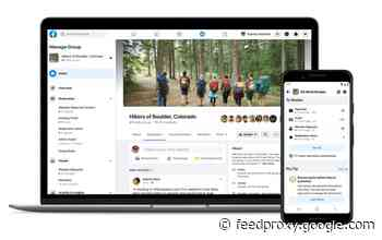 Facebook launches some new tools for Groups