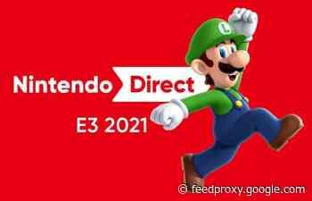 Nintendo Direct E3 2021 presentation