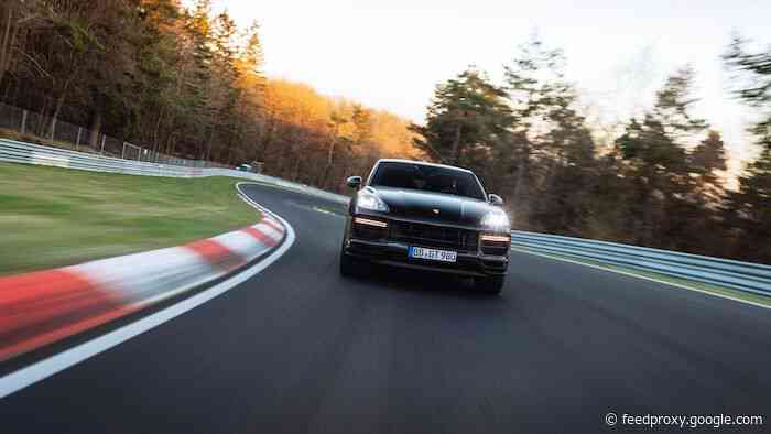 Porsche Cayenne Turbo Coupesets new Nurburgring Lap Record (Video)