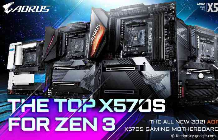 Gigabyte AMD X570S fanless PC chipset motherboards