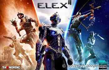 ELEX II open world RPG announced by THQ Nordic