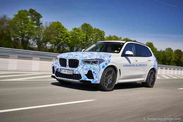 BMW i Hydrogen NEXT cars being tested in Europe